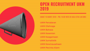Open Recruitment UKM @ Aula STIA LAN Makassar